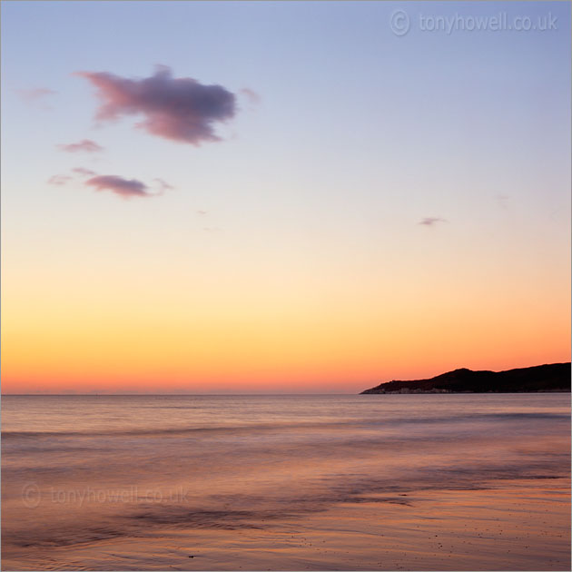 Afterglow, Morte Point from Woolacombe