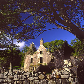 Photographs of Scotland - Old House