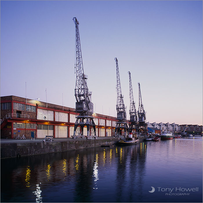 Harbourside Cranes