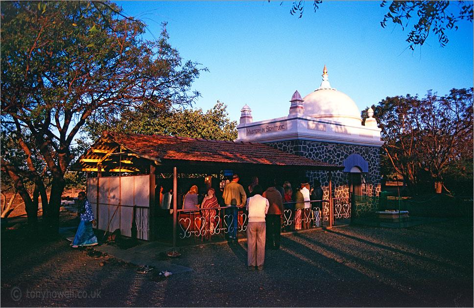 Meher Baba Samadhi Ahmednagar India