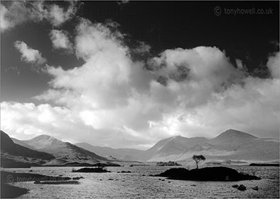 Photographs of Scotland - Rannoch Moor