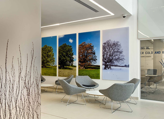 Four Seasons Perspex