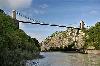 Clifton Suspension Bridge, Afternoon