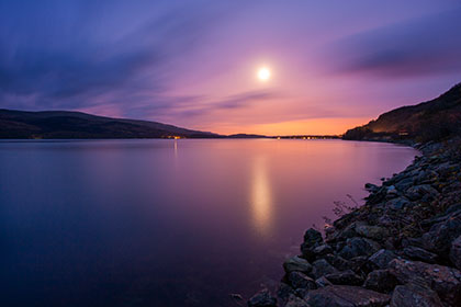 Loch Lomond, Night
