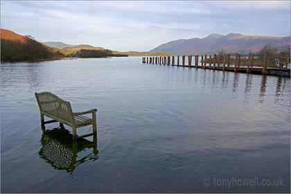 Bench, Derwent Water