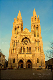 Front of Truro Cathedral