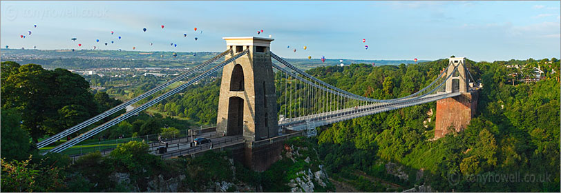 Clifton Suspension Bridge, Balloon Fiesta