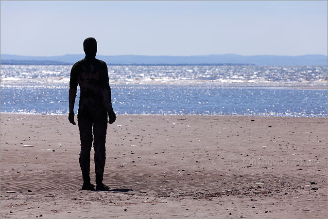 Antony Gormley Statue, Crosby