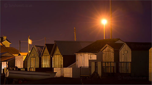 Beach Huts, Teignmouth