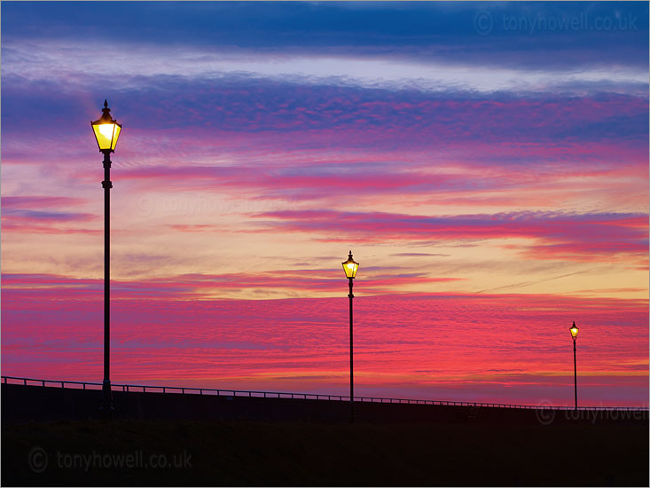 Street Lights, Sunset