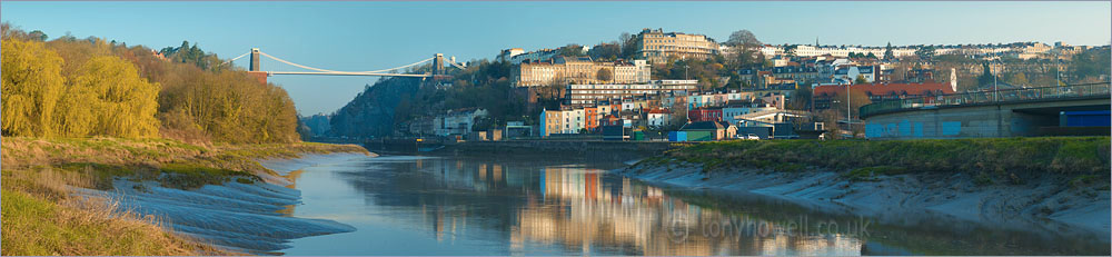 Clifton Suspension Bridge, River Avon, Bristol, Hotwells