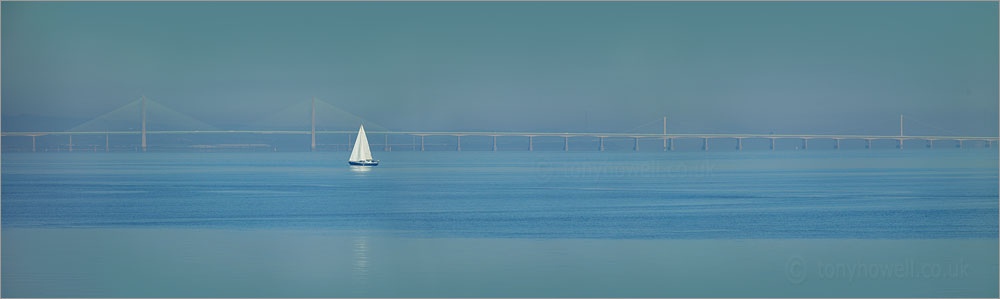 Second Severn Crossing, Yacht, Patchy Fog