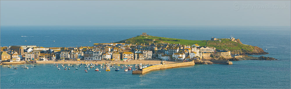 St Ives Harbour, August 2012
