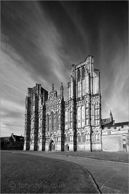 Wells Cathedral, Evening