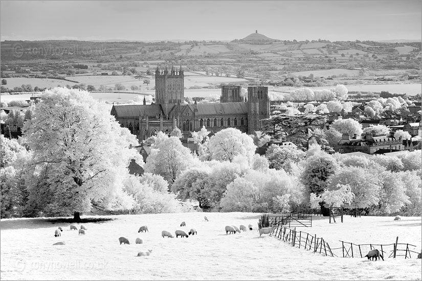 Wells Cathedral and Glastonbury Tor