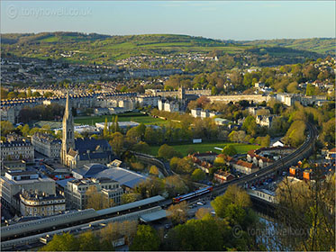 View over Bath