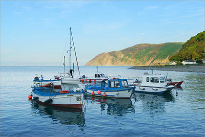 Boats, Lynmouth