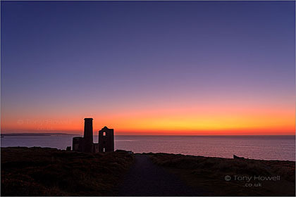 Wheal-Coates-Tin-Mine-Sunset-Cornwall