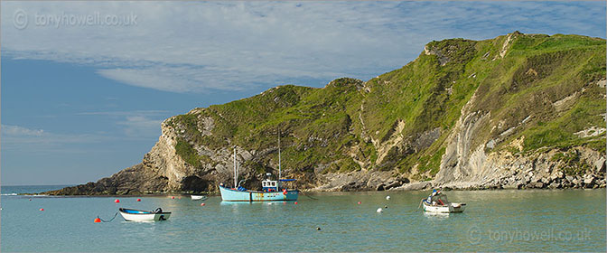 Lulworth Cove, Boats