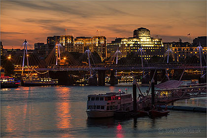 River Thames, Dusk, London