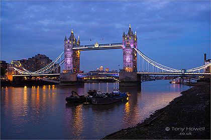 Tower Bridge, Dusk