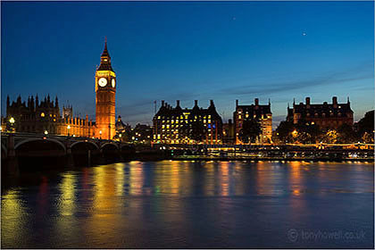 Big Ben, Night, London