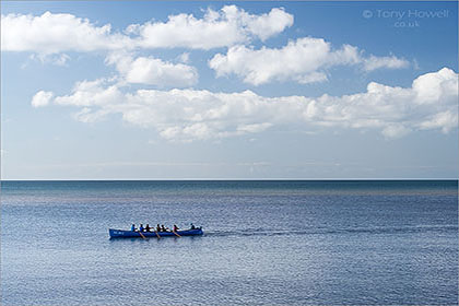 Gig Rowing, Sidmouth