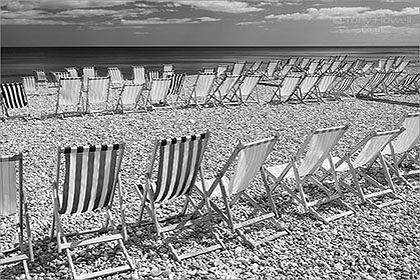 Deckchairs, Beer