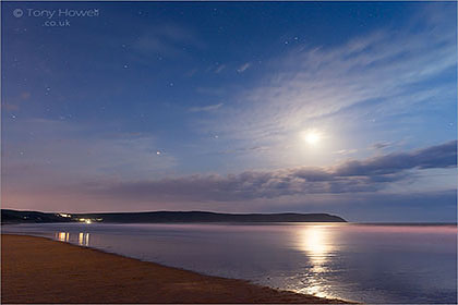 Woolacombe Beach, Night