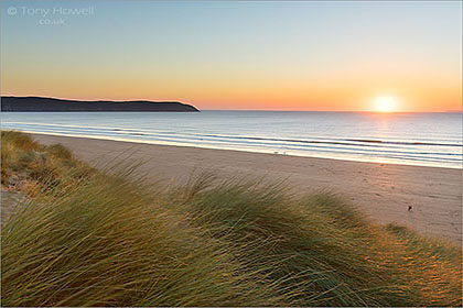 Woolacombe-Beach-Sunset-Baggy-Point-AR458
