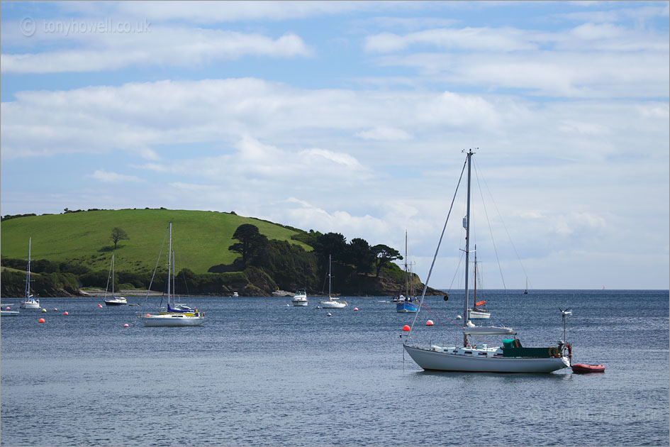 Boats, Helford River