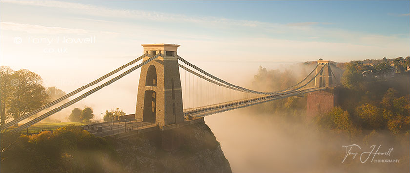 Clifton Suspension Bridge, Fog