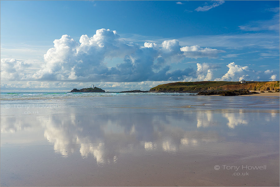 Godrevy Cloud Reflections