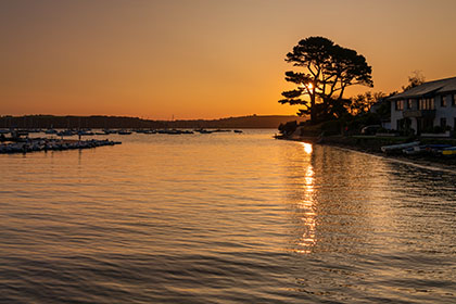Mylor-Harbour-Sunrise-Cornwall