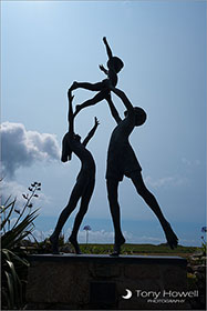 Tresco Children Sculpture, Isles of Scilly