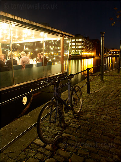Bicycle, Glass Boat