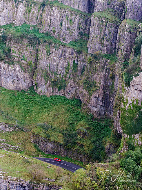 Cheddar Gorge, Red Car