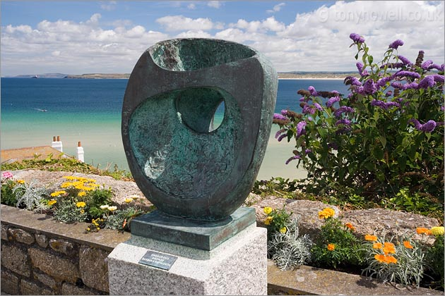 Epidaurous Bronze by Barbara Hepworth, St Ives