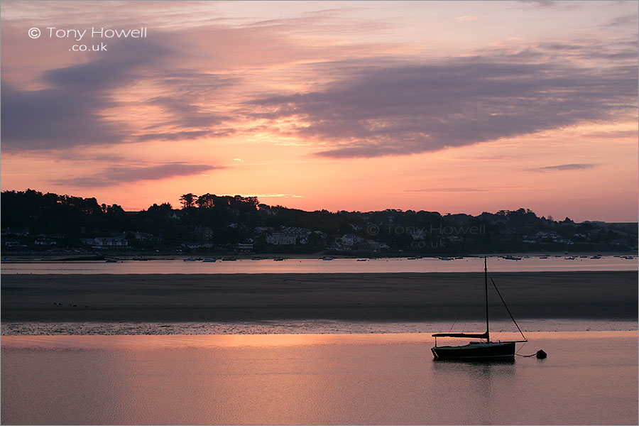 Rock from Padstow, Dawn