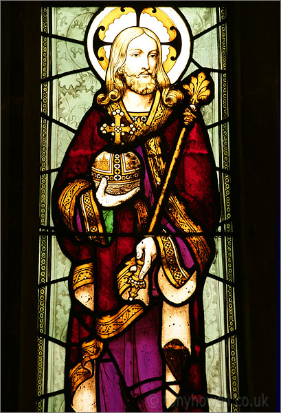Stained Glass, St Mary Magdalene Church