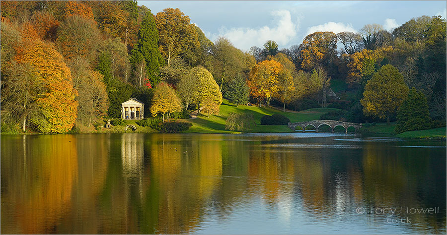 Stourhead Lake, Autumn